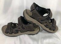 Eddie Bauer Men's Genuine Leather Sport Sandals Active Outdoor Hiking 9 Med.