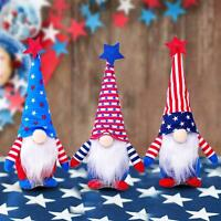 American Independence Day Plush Gnome Holiday Elf Doll Decoration Ornaments Gift