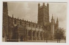 Gloucestershire postcard - Gloucester Cathedral - RP