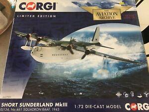 Corgi 1/72nd Short Sunderland Flying Boat Diecast Model
