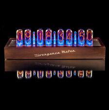 IN-18 NIXIE Tubes Clock [Extreme Large 8 tubes], Musical, RGB, Divergence Meter