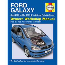 FORD galaxy 2.3 essence 1.9 Diesel 2000-2006 (x à 06 reg Haynes manuel atelier)