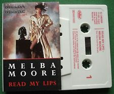 Melba Moore Read My Lips inc Love of A Lifetime + Cassette Tape - TESTED