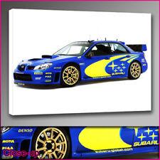 car 303 Subaru Impreza canvas print A2 16x24 Art