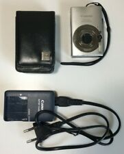 Canon IXUS 80 IS Digital Camera - With Leather Case, Card, Battery, and Charger!
