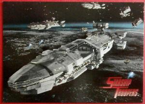 STARSHIP TROOPERS - PROMO Card P2 - Inkworks 1997