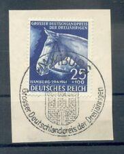 Deutsches Reich Nr.746 Sst Hamburg 26.6.1940 Briefstück 120981 Pferd !