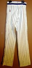 ORLANDO MAGIC NBA GAME USED White Pinstripe Size 34 WARM-UP PANTS