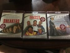Lot Of 3 Scent of a woman, Nutty Professor II & Sneakers For HD DVD Players