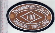 SCUBA Hard Hat Diving Japan TOA Diving Apparatus Co. Ltd Founded in 1924 br