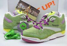 New Reebok X Packer Shoes Wimbledon Court Victory Pump Green/White Rare sz 9.5