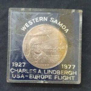 Western Samoa Charles A Lindbergh Usa Europe Flight 1927-77