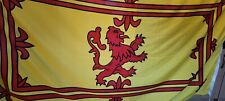 More details for scotland lion rampart flag approx 9 feet x 4.5 feet