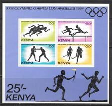 KENYA 1984 1984 SUMMER OLYMPICS S/S SC # 301 MNH