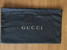"GUCCI Authentic Brown Dust Bag /Sleeper /Cover for Handbag 12 1/2"" x 7 1/2"""