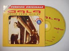 GALA : FREED FROM DESIRE ( EDIT MH ) [ CD SINGLE RTL PORT GRATUIT ]