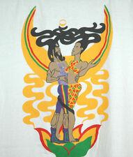 Rare Vtg IMO MOONGAZING T Shirt REGGAE MUSIC Rasta Jamaica XL M/L