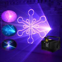 2W RGB Animation Laser Light SD card DMX ILDA DJ Party Laser Beam Lights LL2000