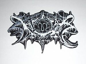 XASTHUR BLACK METAL IRON ON EMBROIDERED PATCH