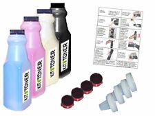 EPSON Aculaser C1100 - 4 x Kits de recharge toner compatibles Noir, Cyan, Jaune