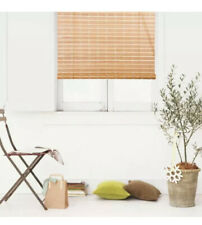Natural Bamboo window roll up blind