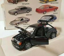 SCHABAK 1/43 Ford Fiesta XR2 Noir / Black Réf 1085