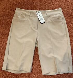 Adidas Ladies Golf Bermuda Shorts Size 8