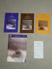 Tom Stoppard Coast of Utopia - 3 Vols all First Editions + National Theatre Prog