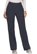 Scrubs Cherokee Workwear Mid Rise Pull On Pant Ww110 Pwt Pewter Free Shipping