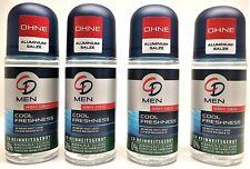 CD MEN Deodorant Deo Roll On Kühle Frische 1 Posten = 4 x 50 ml