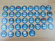 Pokemon Master Trainer Board Game Spares Blue Discs Good Used Condition