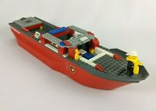 LEGO CITY FIRE BOAT SHIP 7207 Incomplete W/ One Mini Figure Clean FREE SHIPPING!