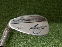 PureSpin Diamond Face 52* A Wedge MLH Left-handed Wedge Flex Steel (LS1839) Gap