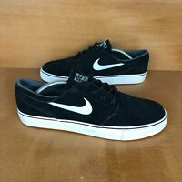 Nike Zoom Stefan Janoski OG SB Mens 12 Black White Skate Athletic 833603-012 NEW
