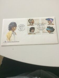 Transkei stamps 1981 FDC Xhosa Woman's Headdresses (d)