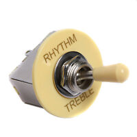 3 Way Guitar Toggle Switch for Electric Guitar Parts Cream Box Style