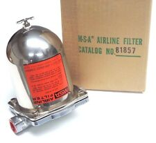 NIB MSA AIRLINE FILTER 1/2'' NPT CAT. NO. 81857