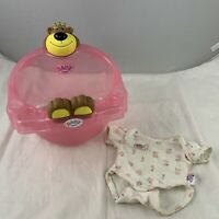 Zapf Creation Baby Born Heart Shaped Bath & Vest Baby Doll Bear Bath