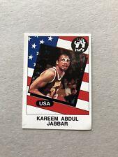 1986 Panini CARD Sticker Kareem Abdul Jabbar Basketball Supersport #129 New !!!