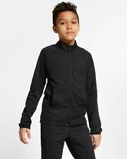 Boys Nike Tracksuit Bottoms Top Jacket Joggers Pants Kids Black Junior Small 7-8