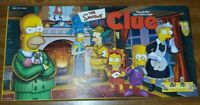 The Simpsons Clue Board Game 1st Edition 2000 Parker Bros Pewter Pieces Complete