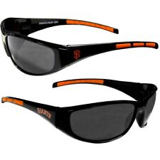 SAN FRANCISCO GIANTS SUNGLASSES 3 DOT WRAP MLB UV 400 PROTECTION WITH POUCH