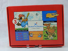 Hooked on Phonics Level 3 Learn to Read 2 Cassettes 3 Decks of Cards