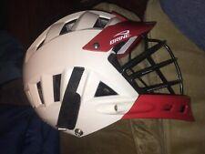 Brine White Triad St2 Lacrosse Helmet one size fits most