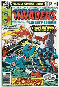 INVADERS#37 VF/NM 1979 MARVEL BRONZE AGE COMICS