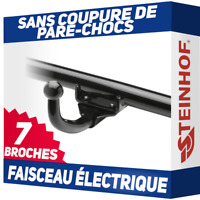 Renault Kangoo I 97-08 Attelage fixe+faisceau 7 broches