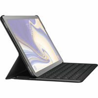 USED Samsung Electronics EJ-FT830UBEGUJ Galaxy Tab S4 Book Cover Keyboard, Black