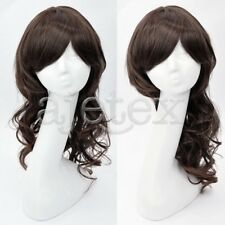 Women's Fashion Synthetic Fiber 55cm Long Curly Wig Hair Extensions