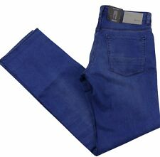 Hugo Boss Mens Jeans Maine Regular Fit Cotton Blend BLUE BNWT W38 x L34