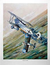 Original WW1 Fighter Planes 6 Print Set by Jim Deenen